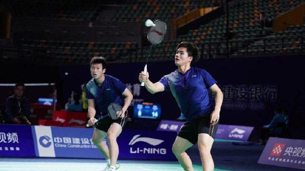 任翔宇/梁伟铿VS李俊慧/刘雨辰 2021全运会羽毛球 男双半决赛视频