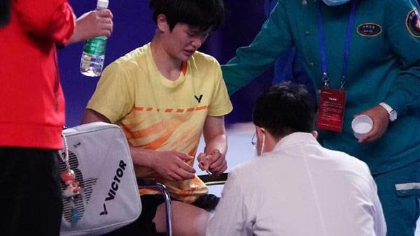 陈雨菲VS王祉怡 2021全运会羽毛球 女单半决赛视频