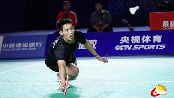 孙飞翔VS陆光祖 2021全运会羽毛球 男单半决赛视频