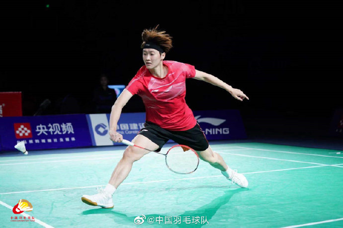 陈雨菲VS韩悦 2021全运会羽毛球 女单决赛视频
