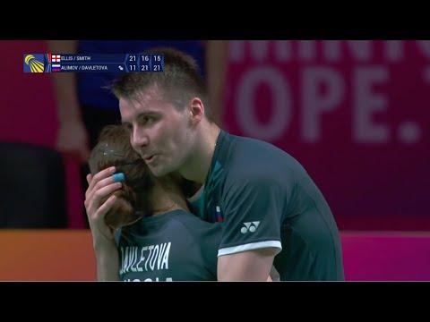 阿利莫夫/艾琳娜VSM·埃利斯/L.史密斯 2021欧锦赛 混双决赛视频