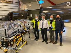 安赛龙包下私人救护飞机回国治疗!