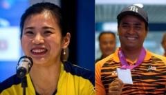 吴柳莹担任马来西亚奥运旗手