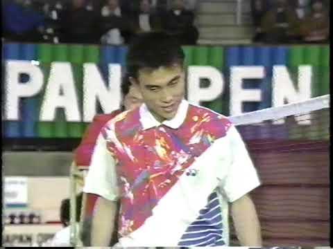 上古神兽对决!1992日本赛男单决赛赵剑华vs阿迪