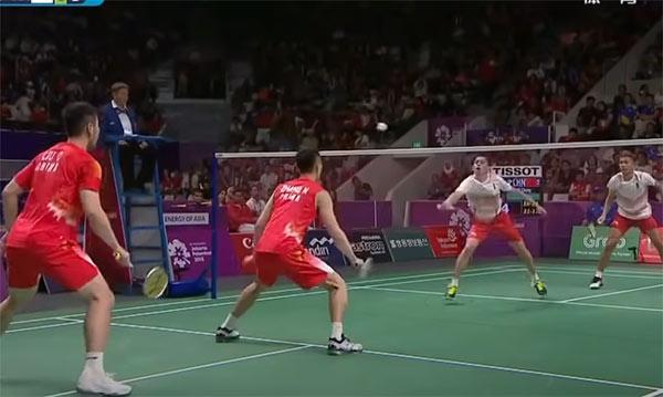 张楠/刘成vs印尼双阿组合集锦,若没拆对会怎样?