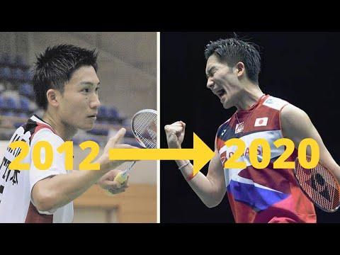 桃田贤斗2012-2021年精彩球集锦!一代天王十年磨一剑