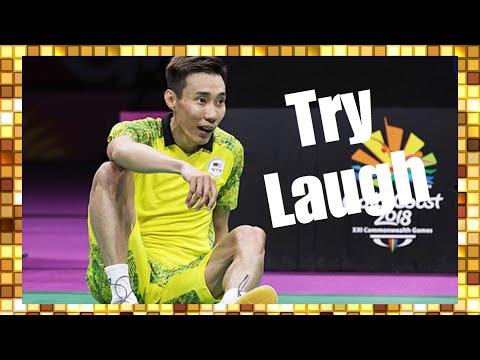 看直播被忽视的有趣比赛瞬间,李宗伟太可爱了