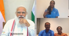 印度总理:待辛德胡奥运归来一起吃冰淇淋