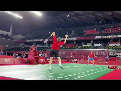 【奥运热身赛】李梓嘉约芬兰选手过招,只守不攻就能赢