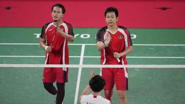 印尼男双最后的希望!阿山亨德拉2-1鸡血组合集锦!