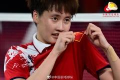 陈雨菲:感谢祖国的保障 盼下届奥运展现风采