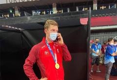 安赛龙夺冠,丹麦王储打来电话祝贺