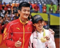 谌龙连线王适娴:奥运前约定夺金就要二胎