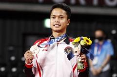 """金廷奥运夺牌创下记录 """"希望印尼为我的成就感到自豪"""""""