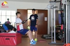 奥运幕后英雄 国羽体能教练刘杰:我是一块铺路砖