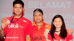 培养出艾哈迈德/纳西尔 印尼混双主管教练本月退休
