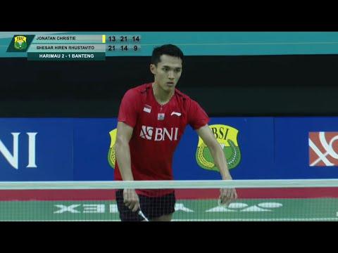 乔纳坦vs西萨集锦  2021印尼队苏杯模拟赛
