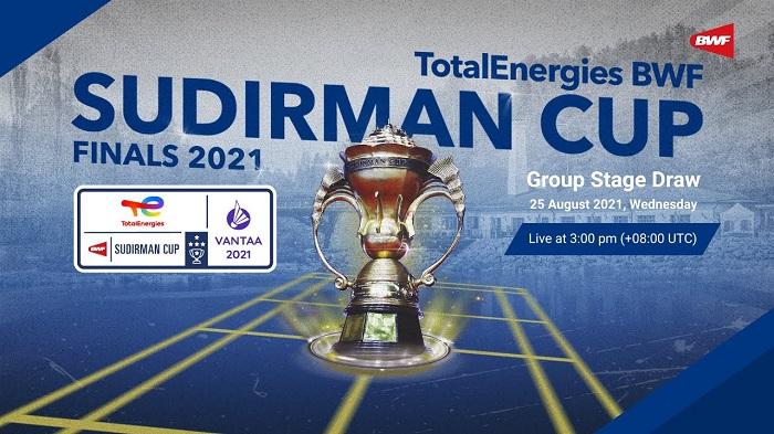 2021年苏迪曼杯混合团体赛