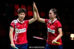 中国5-0丹麦 国羽尤杯D组第一出线