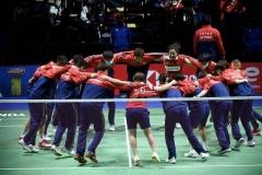 中国3-1日本 汤杯决赛国羽战印尼