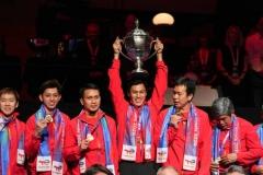 印尼3-0中国 时隔19年再次捧起汤杯