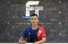 伍家朗签约马来西亚知名羽球品牌FELET