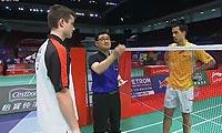 埃里克VS马丁 2013苏迪曼杯 男单资格赛视频