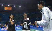 程文欣/简毓瑾VS莎拉丽/库查拉 2011苏迪曼杯 女双资格赛视频