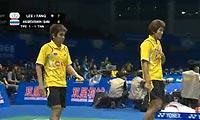 李胜木/方介民VS宋邦/博丁 2011苏迪曼杯 男双资格赛视频