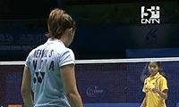 因达农VS内维尔 2011苏迪曼杯 女单资格赛视频