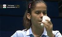 内维尔VS戴资颖 2011苏迪曼杯 女单资格赛明仕亚洲官网
