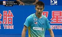 李宗伟VS狄奥尼修斯 2011苏迪曼杯 男单资格赛视频