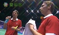 李胜木/方介民VS鲍伊/摩根森 2011苏迪曼杯 男双1/4决赛视频