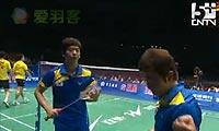 郑在成/李龙大VS蔡赟/傅海峰 2011苏迪曼杯 男双半决赛视频