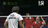 尼尔森/佩蒂森VS弗兰/皮娅 2011苏迪曼杯 混双半决赛视频