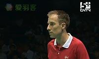 盖德VS西蒙 2011苏迪曼杯 男单半决赛视频