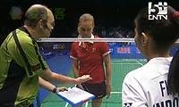 鲍恩VS菲尔达萨里 2011苏迪曼杯 女单半决赛视频