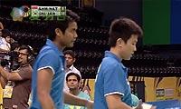 艾哈迈德/纳西尔VS申白喆/张艺娜 2013印度超级赛 混双1/4决赛视频