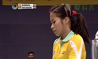 因达农VS辛德胡 2013印度超级赛 女单半决赛视频