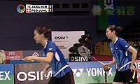 尤尔/佩蒂森VS张艺娜/金昭映 2013印度超级赛 女双半决赛视频