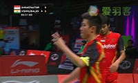 艾哈迈德/纳西尔VS维什奴/巴兰 2013苏迪曼杯 混双资格赛视频
