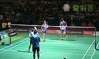法蒂拉赫/安格莱尼VS申白喆/张艺娜 2013澳洲公开赛 混双决赛视频