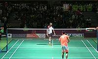 李宗伟VS乔斌 2013澳洲公开赛 男单1/4决赛视频