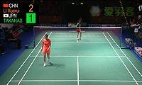 高桥沙也加VS李雪芮 2013德国公开赛 女单1/4决赛视频