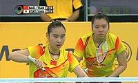 包宜鑫/田卿VS松友美佐纪/高桥礼华 2013马来公开赛 女双决赛视频