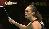 鲍恩VS因达农 2013全英公开赛 女单决赛明仕亚洲官网