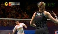鲍恩VS韩利 2013全英公开赛 女单1/8决赛视频