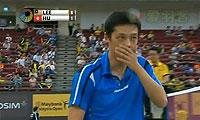 李宗伟VS胡赟 2013马来公开赛 男单1/4决赛视频