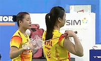 于洋/王晓理VS马晋/汤金华 2013韩国公开赛 女双决赛视频