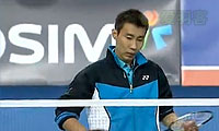 李宗伟VS茨维布勒 2013韩国公开赛 男单1/8决赛视频